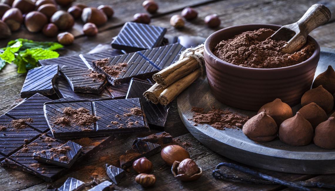 Chocolate en diferentes presentaciones