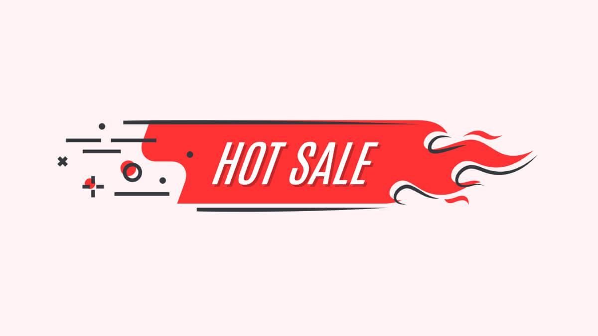 Etiqueta de qué es Hot Sale México