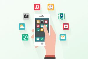 compra en aplicación móvil