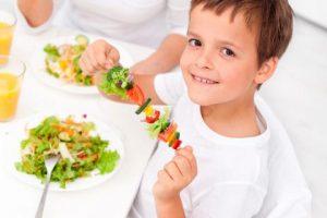 los mejores alimentos para niños