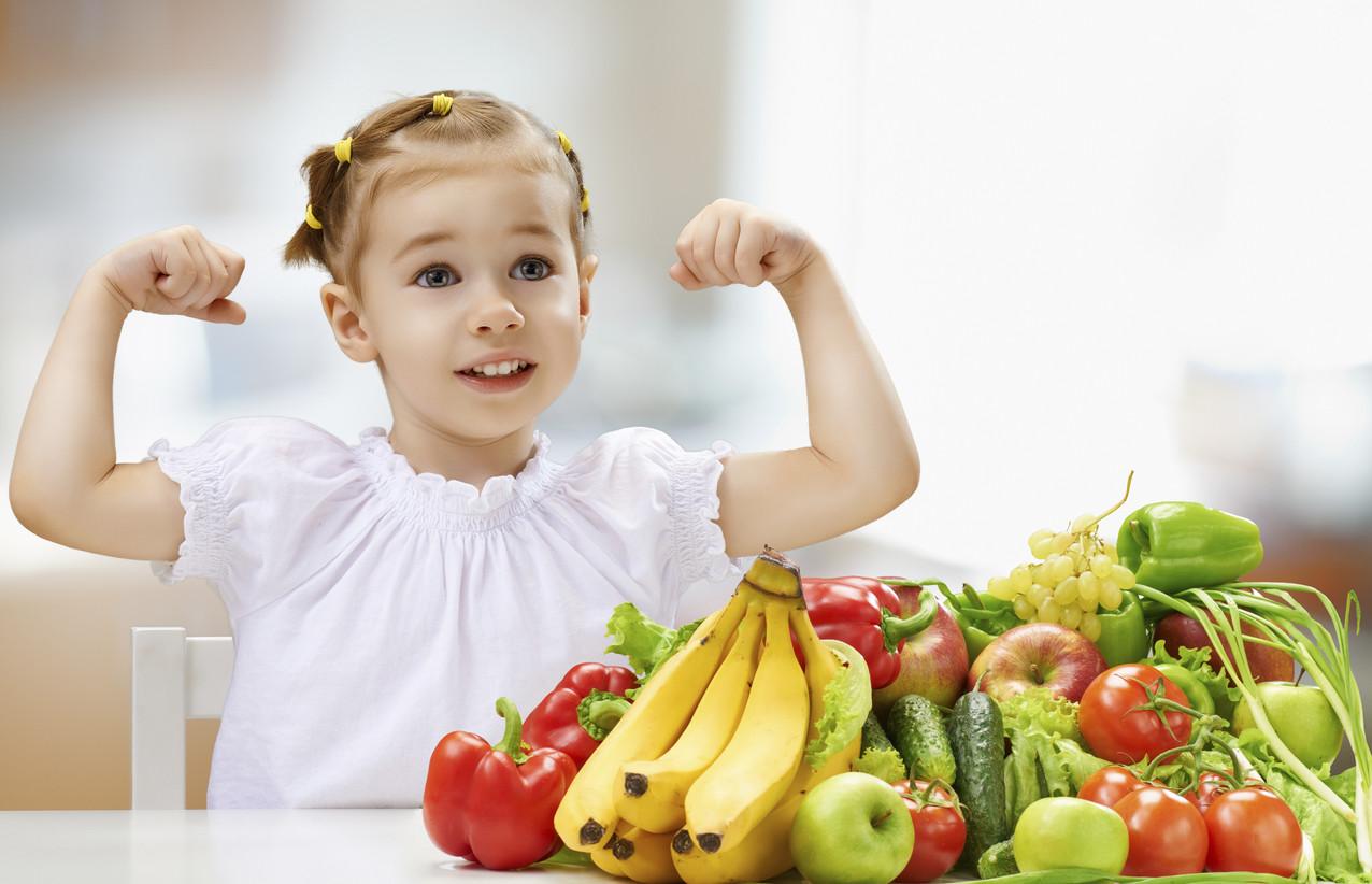 tipos de alimentos para niños