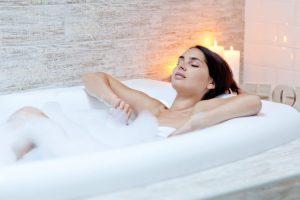 baño caliente insomnio