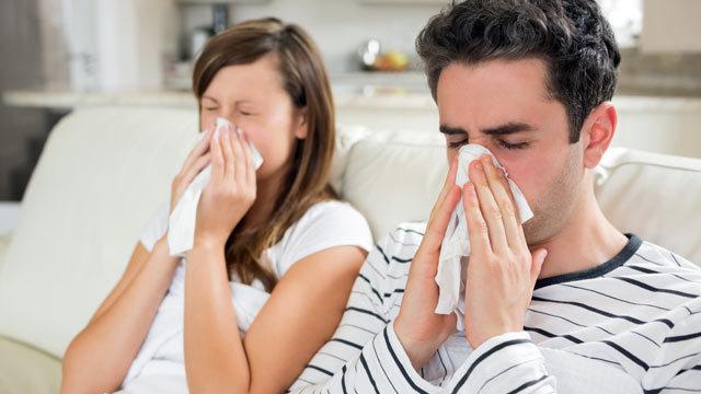Personas con resfriado