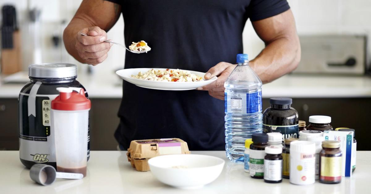 Suplementos para la masa muscular en adultos