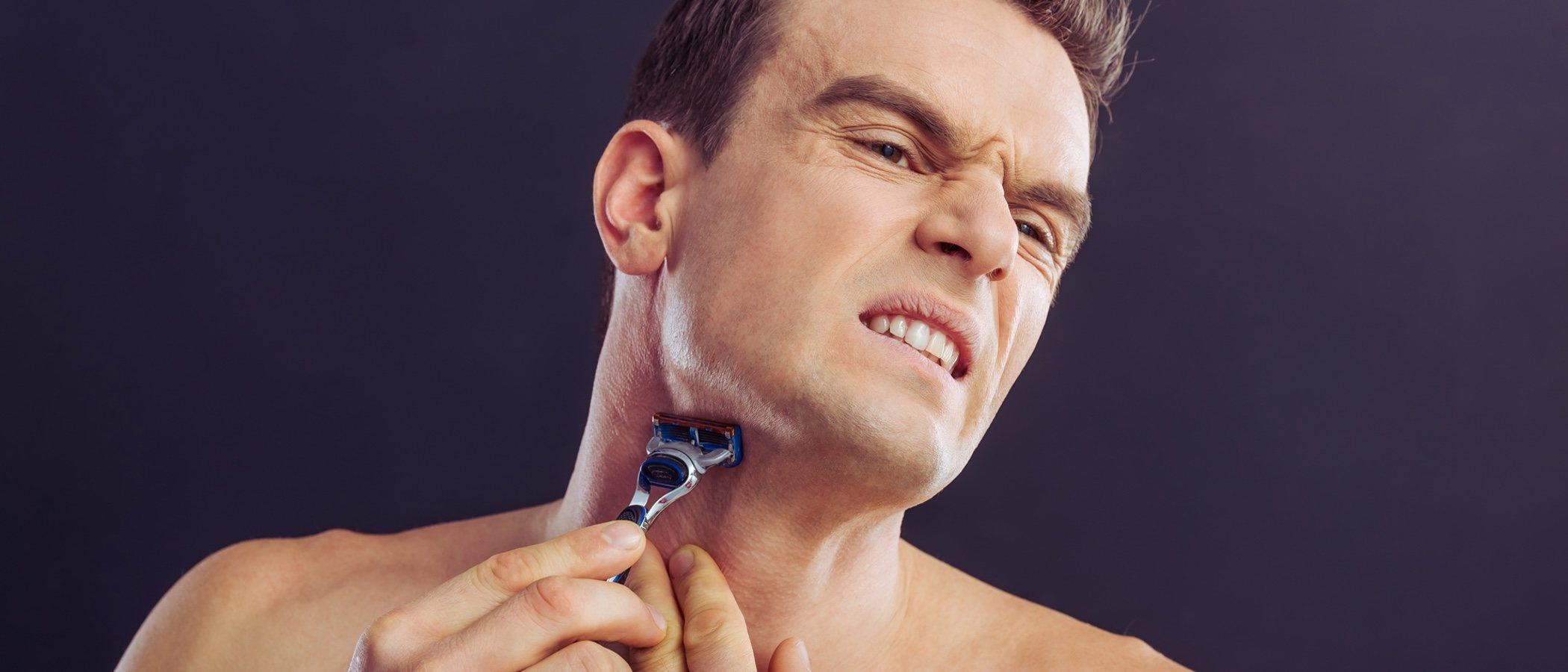 irritación del afeitado